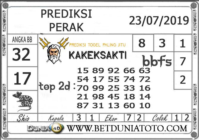 """Prediksi Togel """"PERAK"""" DUNIA4D 23 JULI 2019"""