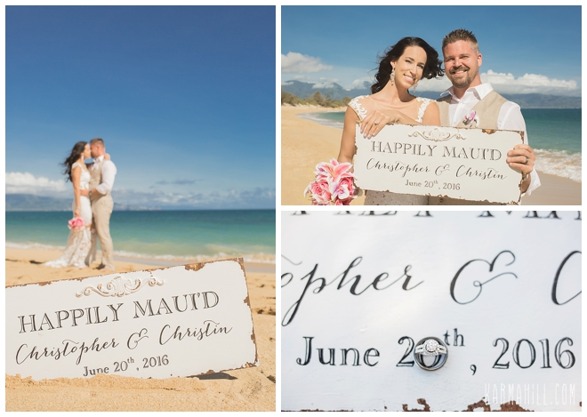 Maui Wedding Portrait