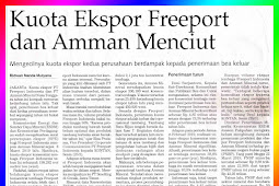 Freeport and Amman Export Quota Decreases