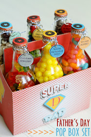 How to make a fun Father's Day gift with the kids Pop Bottles