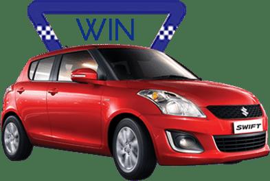 WIN a Maruti Suzuki Swift - Freebie Giveaway Contest - Win Reward