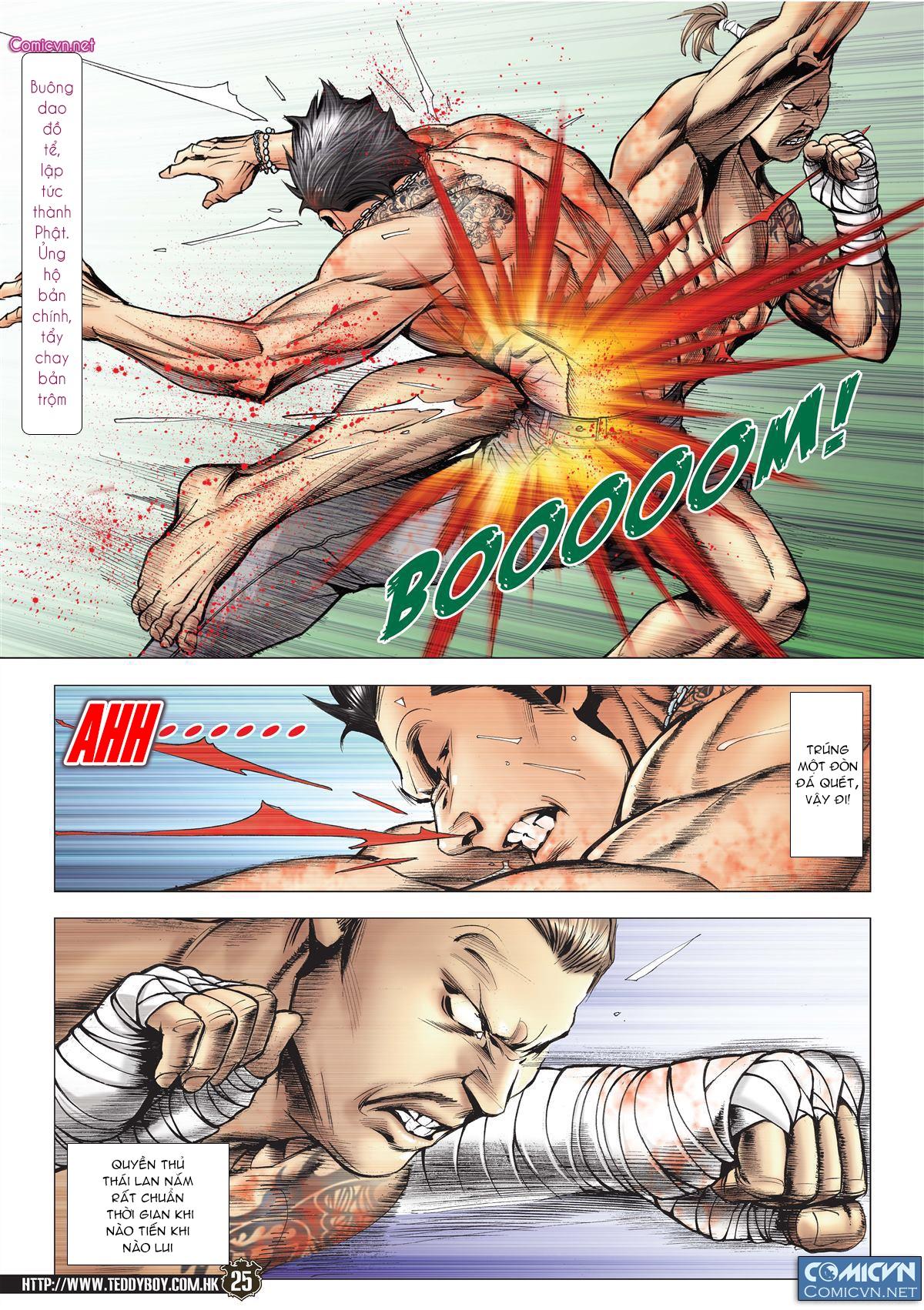 Người Trong Giang Hồ chapter 2143: ác chiến vua muay thai trang 23