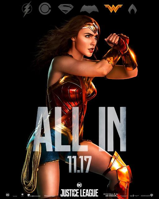 Mulher Maravilha Justice League 2017 blog mineira sem freio