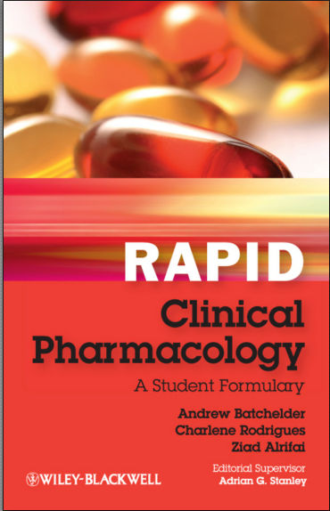 Rapid Clinical Pharmacology, A Student Formulary [PDF]- Batchelder, Andrew