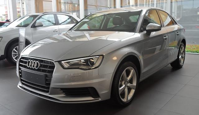 Audi A3 Sedan Flex: detalhes do premium nacional