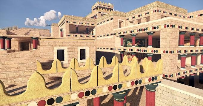 Τριδιάσταστη περιήγηση στο εξαίσιο παλάτι της Κνωσσού - ΒΙΝΤΕΟ