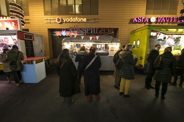 Street food vicino alla Berlinale palast-Berlino