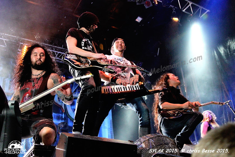 DragonForce @Sylak Open Air #5, Saint-Maurice-de-Gourdans 08/08/2015