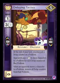 My Little Pony Delaying Tactics Seaquestria and Beyond CCG Card