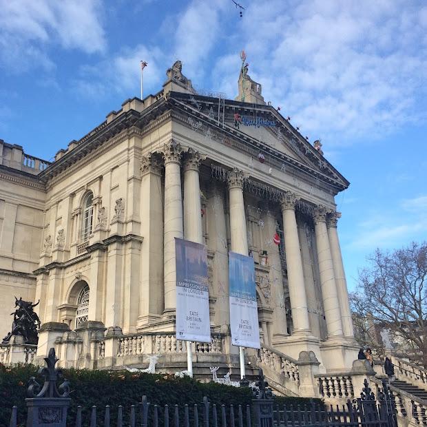 Cam Explores London Tate Britain - Camille' Space