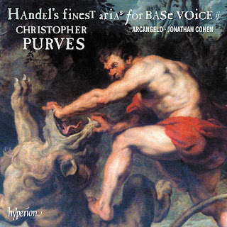 Christopher Purves, Arcangelo, Jonathan Cohen - Handel's finest arias for base voice II - Hyperion
