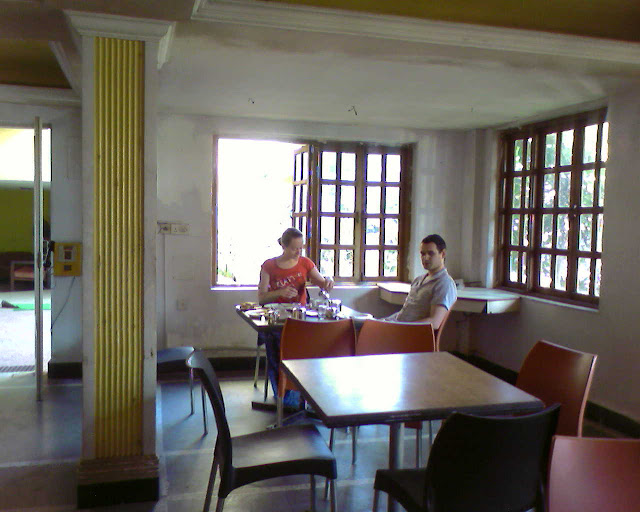 Столовая отеля Мирамар