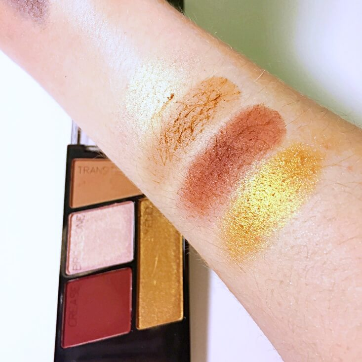 wet n wild color icon Eyeshadow Quad Fit For a Queen swatch