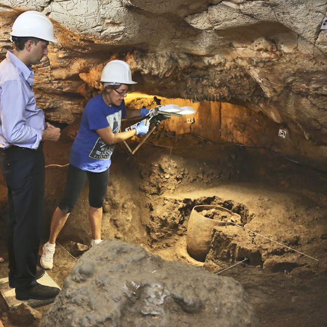 5,000-year-old skull discovered in Spanish cave