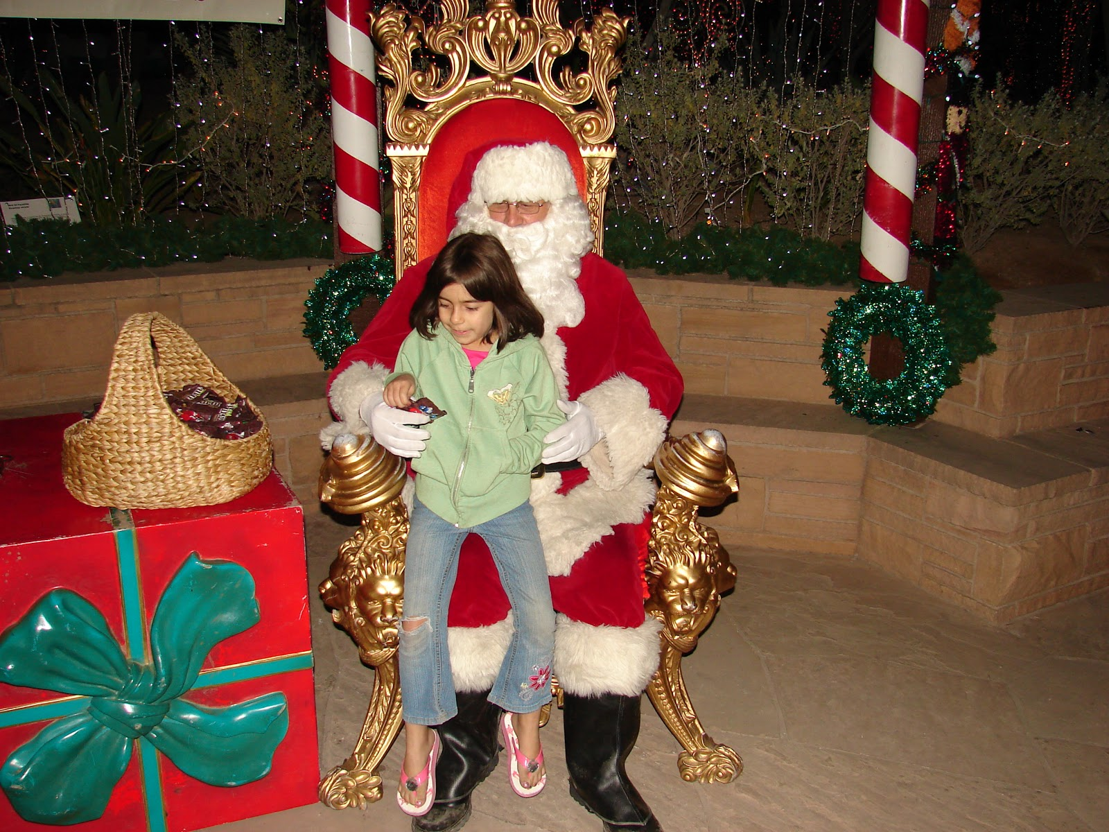 The Woods Visit With Santa Ethel M Chocolate Factory