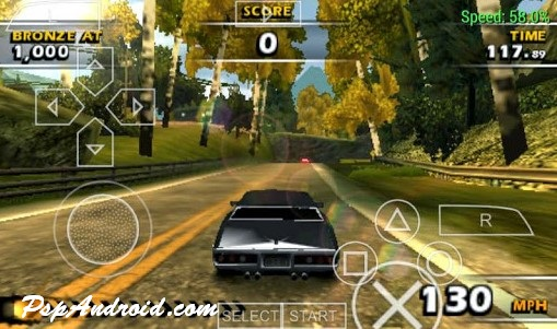 Burnout Dominator PSP For Android