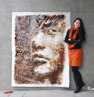 Retrato de Jay Chou por Red Hong Yi