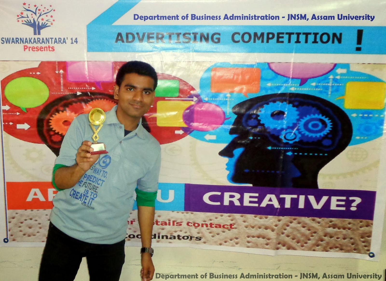 Swarnakarantara'14' | Annual Management Fests | Department of Business Administration - JNSM, AUS