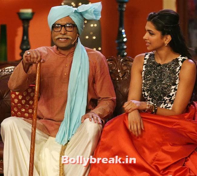 Comedy with Kapil Promotes Ram Leela, Comedy Nights with Kapil & Ram Leela Team