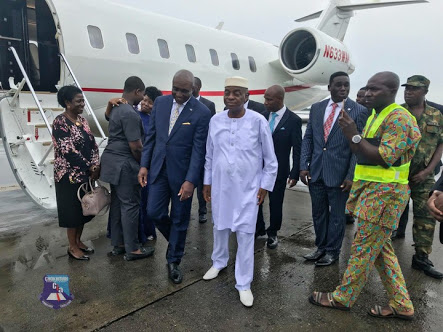 David Ibiyeomie Welcomes Bishop Oyedepo As He Dedicates CIA In Rivers (Photos)