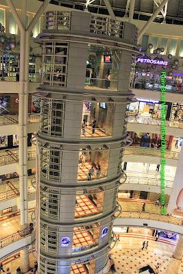 Elevator, Interior, Petronas Twin Tower, Suria KLCC, KL, Malaysia