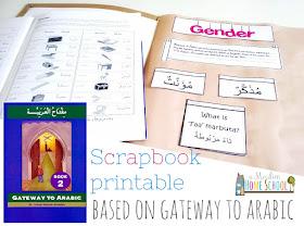 arabic scrapbook based on gatewayto arabic