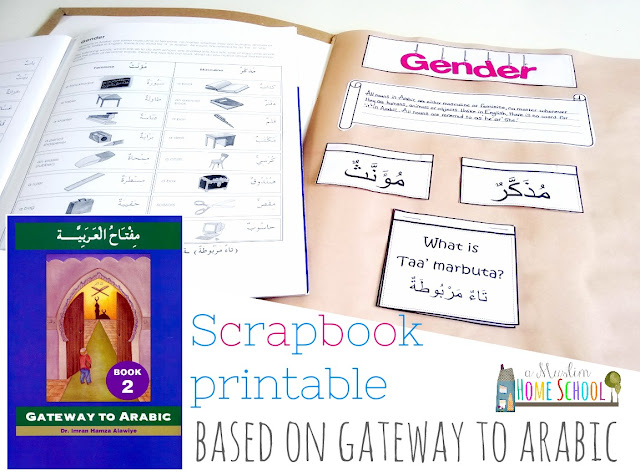 arabic scrapbook based on gatewayto arabic