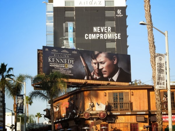 Killing Kennedy National Geographic billboard