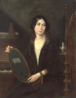 Marceline Desbordes-Valmore - Copie d'un tableau d'Hilaire Ledru (1769-1840) - Bibliothèque de Douai.