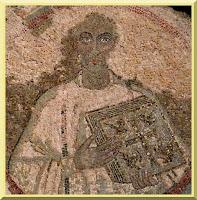 Saint Quodvultdeus mosaic portrait - PD-1923