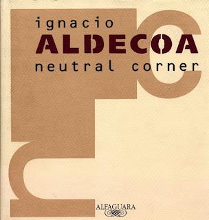 Neutral corner Ignacio Aldecoa