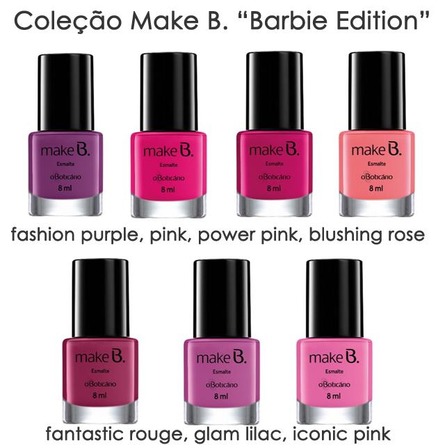 esmaltes, fashion purple, pink, power pink, blushing rose, fantastic rouge, glam lilac, iconic pink