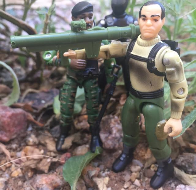1997 Zap, Stalker, Snake Eyes, Bazooka, Toysrus Exclusive