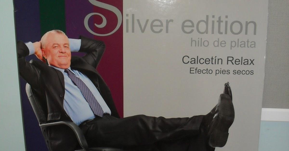 Calcetin relax efecto pies secos silver edicion for W de porter ortopedia