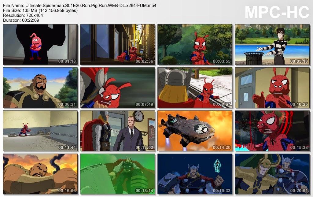 Ultimate spider-man (season 1) hindi dubbed episodes (720p hd.