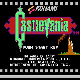 Captura de Castlevania 1, de 1987 para NES