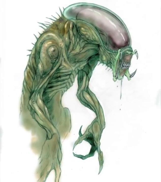 alien explorations alien vs predator green predalien