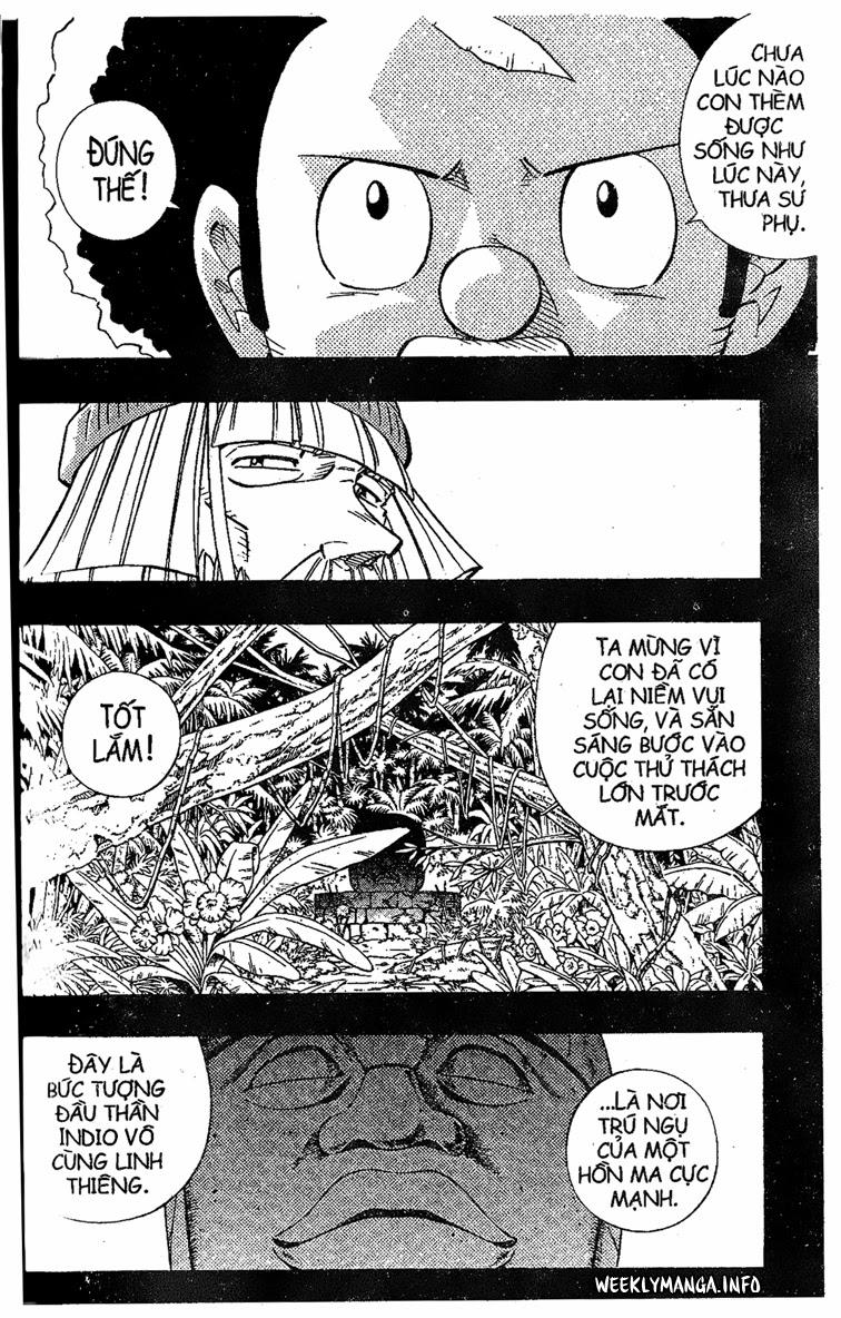 Shaman King [Vua pháp thuật] chap 204 trang 21