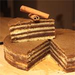 Spekkoek pyragas (2-a versija)