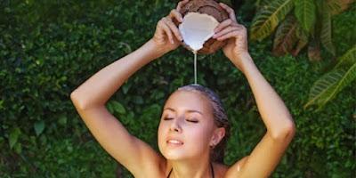Cara Meluruskan Rambut Dengan Santan