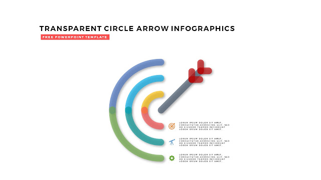 Free PowerPoint Design Elements with Transparent Curved Arrows in White Background Slide 11