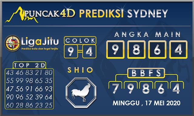 PREDIKSI TOGEL SYDNEY PUNCAK4D 17 MEI 2020