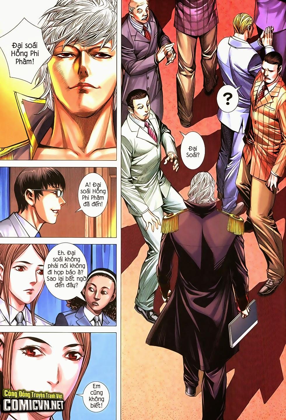 Đại Quân Phiệt chap 21 trang 29