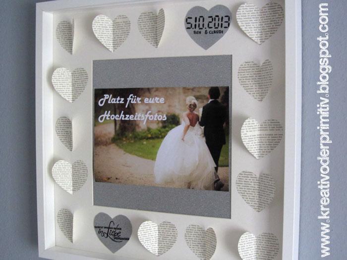 Kreativ Oder Primitiv Rahmen Fur Hochzeitsbilder