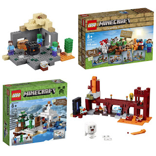 All Minecraft Lego Sets