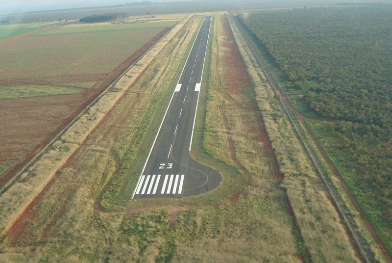Aeroporto de Chapadão do Sul retoma operações para voos noturnos