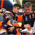 Jorge Martín se lesiona en su primer Test de Moto2