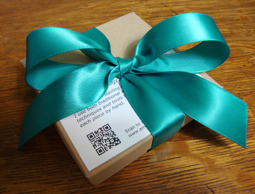 Amy Estelle Metalworks Show us your packaging!