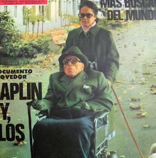 Уна Чаплин и Чарльз Чаплин, Веве, октябрь 1977 г. - 2