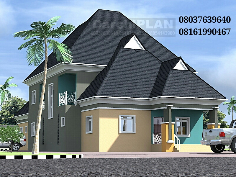 NIGERIA BUILDING STYLEArchitectural Designs By DarchiPLAN HOMES
